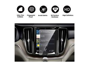 2018 2019 Volvo XC60 Sensus Navigation System Car Navigation Screen Protector,  HD Clear Tempered Glass Car in-Dash Screen Protective Film