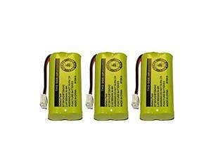 Battery for ATT BT8001 BT8000 BT8300 BT184342 BT284342 89133500 89134401 BATT6010 CPH515D 3Pack Bulk Packaging