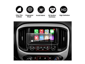 2015 2016 2017 2018 GMC Canyon INTELLILINK 8Inch Car Navigation Screen ProtectorGMC Infotaintment System  HD Clear TEMPERED GLASS Screen Protective Film
