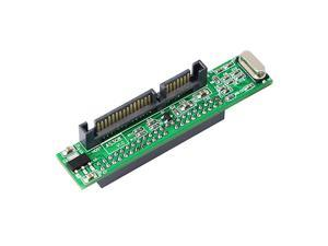 SATA Male to 44 pin Female 25 inch IDE Adapter for PC and Mac Computer to SATA Hard Drive Interface AdapterSATA M25 F