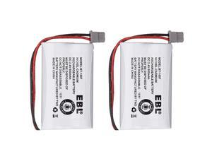 Model BT1007 Rechargeable Cordless Phone Battery for BBTY0651101 (2 Pack)