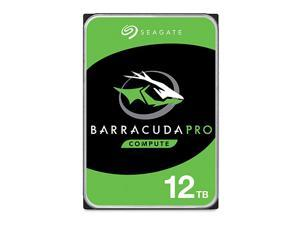 BarraCuda Pro 12TB Internal Hard Drive Performance HDD – 3.5 Inch SATA 6 Gb/s 7200 RPM 256MB Cache for Computer Desktop PC Laptop, Data Recovery – Frustration Free Packaging (ST12000DM0007)