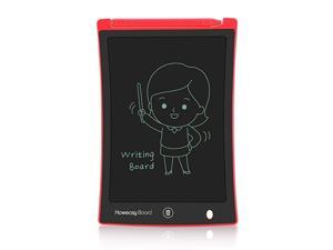 Writing Tablet 85 Inch Learning Educational Toys Electronic Drawing and Writing Board for Kids Adults Handwriting Paper Doodle Pad for School and Office Red
