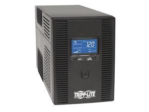 OMNI1500LCDT 1500VA UPS Battery Back Up AVR LCD Display 10 Outlets 120V 810W Tel & Coax Protection USB, 3 Year Warranty & $250,000 Insurance, Black