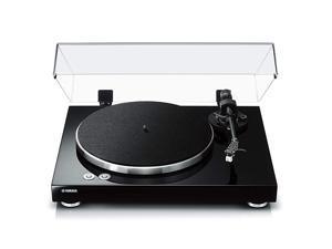 TT-S303 Hi-Fi Vinyl Belt Drive Turntable – Piano Black