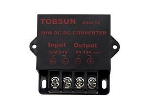 DC 12V 24V to DC 5V 10A 5V 5A12V 5A 10A Power ConverterPower Adapter 1224V to 5V 10A 1224V to 5V 10A Converter