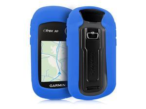 Case Compatible with Garmin eTrex 102030201x209x309x GPS Handset Navigation System Soft Silicone Skin Protective Cover Blue