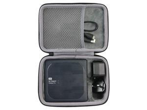 Hard Travel Case for WD My Passport Wireless Pro Portable External Hard Drive