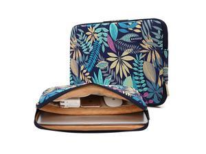 Canvas WaterResistant for 15617 Inch Laptop Sleeve Case Bag 17 Inches Forest Series Bule