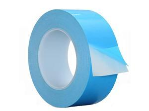 Thermal Adhesive Tape 30mm by 25M  High Performance Thermally Conductive Tape Apply for Coolers Heat Sink LED Strips Computer CPU GPU Easy to Apply High Durability