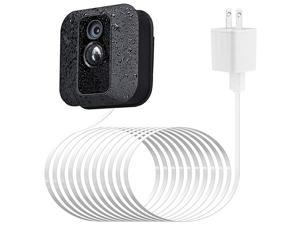 Adapter for Blink XT XT2 AllNew Blink Outdoor Indoor Camera with 25 ft75 m Weatherproof Cable Continuously Charging Blink Camera No More Battery Changes White