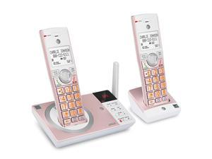 CL82257 DECT 60 Expandable Cordless Phone with Answering System and 2 Handset Rose Gold