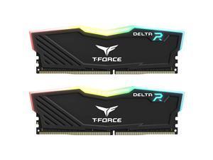 TForce Delta RGB DDR4 16GB 2x8GB 3000MHz PC424000 CL16 Desktop Memory Module ram TF3D416G3000HC16CDC01 Black