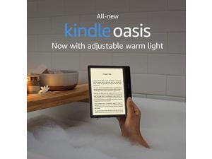 Kindle Oasis Now with adjustable warm light 32 GB Graphite Free 4G LTE + WiFi International Version ATT