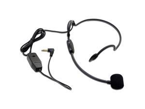 HS01 Headset Microphone35mmwith BatteryEasy For PresentationsLive StreamEducation