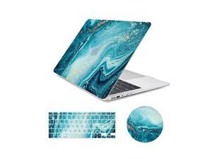 MacBook Air 13 inch Case Marble Design Slim Plastic Hard Case with Keyboard Cover Mouse Pad Compatible for MacBook Air 13 Old Version 20102017 A1466 A1369