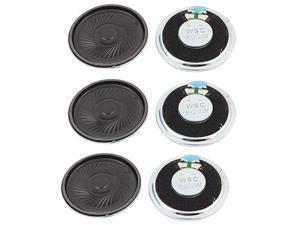 a15112300ux1550 2W 40mm Diameter 8 Ohm Internal Mini Magnet Speaker Loudspeaker 6Pcs Pack of 6
