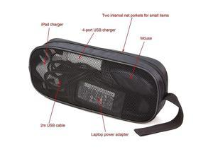 Universal Electronics Accessories Travel OrganizerCarry Case