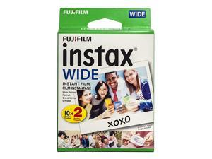 instax Wide Instant Film 20 Exposures White New Packaging