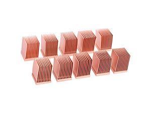 17426 GPU RAM Copper Heatsinks 10x10mm 10pcs Air Cooling Passive Coolers
