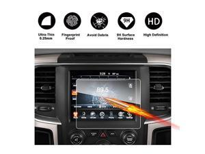 20132018 Dodge Ram 1500 2500 3500 Uconnect Touch Screen Car Display Navigation Screen Protecto HD Clear Tempered Glass Car inDash Screen Protective Film New 84Inch