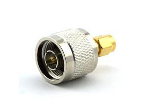 N Male to RPSMA RP SMA Male Connector RF Coax Coaxial Adapter