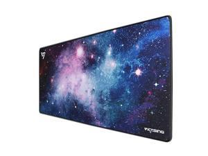 30 Larger Extended Gaming Mouse Pad with Stitched Edges Long XXL Mousepad 315x157In Desk Pad Keyboard Mat NonSlip Base WaterResistant for Work Gaming Office Home Galaxy