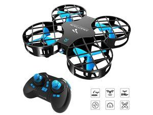 H823H Mini Drone for Kids RC Nano Quadcopter wAltitude Hold Headless Mode 3D Flips One Key Return and Speed Adjustment