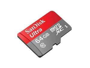 Professional Ultra  64GB Samsung Galaxy S7 MicroSDXC card with CUSTOM HiSpeed Lossless Format Includes Standard SD Adapter UHS1 Class 10 Certified 80MBs