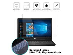 Pack 156 Matte AntiGlare Screen Protector for Dell Inspiron 15 5000 7000 |Dell G3 G5 G7 156 Laptop with Surprise Keyboard Skin Help for Your Eyes Reduce Fatigue