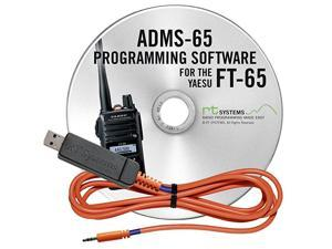 Programming Software and USB-55 Cable for Yaesu FT-65 Dual Band HT