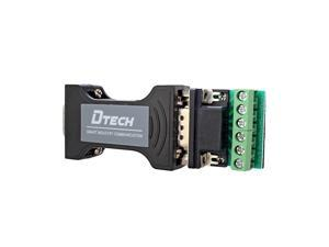 RS232 to RS485 RS422 Serial Communication Data Converter Adapter MiniSize