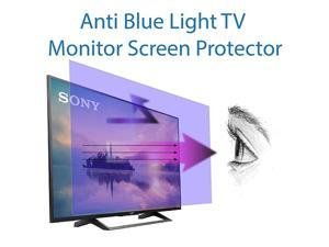 Blue Light Screen Protector for 40 Inches TV Filter Out Blue Light That Relieve Computer Eye Strain and Help You Sleep Better