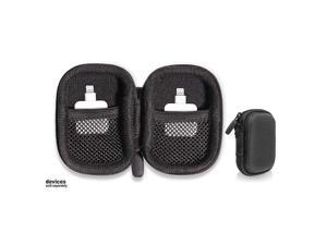 Protective and Carry case for Square Reader for magstripe with Both Lining mesh Pockets for up to 2 Square Reader Black