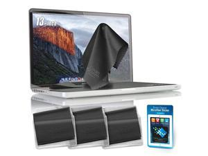 Microfiber Keyboard Covers Protector ClothsScreen Imprint Screen Protector Cleaner Kit Bundle Screen Cleaning Cloths and Sticker for MacBook Pro 13 13in Laptops