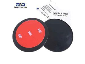 """70mm 3M VHB Adhesive Dashboard Pad Mounting Disk for Suction Cup Phone Mount & Garmin GPS Suction Mount 