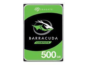 BarraCuda 500GB Internal Hard Drive HDD – 3.5 Inch SATA 6 Gb/s 7200 RPM 32MB Cache for Computer Desktop PC (ST500DM009)