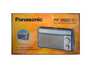RF562D AM FM SW Shortwave Transistor Radio Retro Design Battery operated