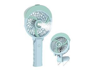 Portable Handheld Misting Fan with 55ml Water Tank Rechargeable Personal Cooling Fan Mister Humidifier USBBattery Operated Water Spray Mist Fan 180° Foldable 3 Speeds Strong Wind for Makeup Travel Ou