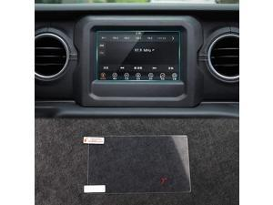 inch Screen Protector Film Media Center Navigation Touch for 2018 Jeep JL Wrangler Chrysler Pacifica 2 PCS