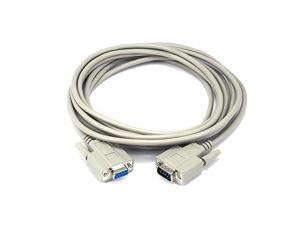 15ft DB 9 MF Molded Cable