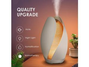 Aroma Essential Oil Diffuser 550ml Ultrasonic Cool Mist Air Humidifier with 4 Timer Setting - Humidifier Cool Mist Air Aromatherapy Purifier for Bedroom Home