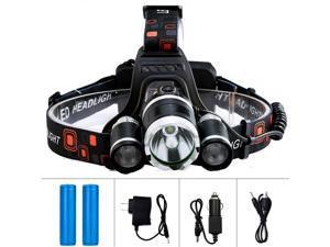 LED Headlamp Flashlight - Rechargeable Waterproof Head Lamp 13000 LUMEN