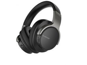 Active Noise Cancelling Headphones, Wireless Over Ear Bluetooth Headphones