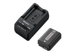 SONY ACC-TRW battery and Charger (W Series Camera Accessory Kit)