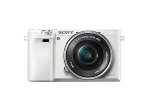 SONY A6000 White KIT SEL 16-50MM F3.5-5.6 OSS Silver