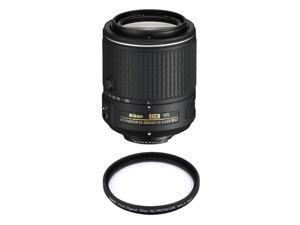 NIKON 20050 AF-S DX NIKKOR 55-200mm f/4-5.6G ED VR II Lens + HOYA 52mm PRO 1D Protector