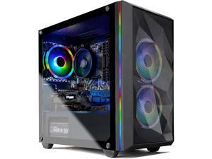 Skytech Chronos Mini Gaming PC Desktop - AMD Ryzen 5 3600 3.6GHz, GTX 1660 Super 6G, 16GB DDR4 3000, 500GB SSD, AC WiFi, Windows 10 Home 64-bit, Black