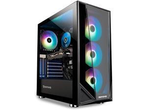 Pro Gaming PC Computer Desktop Trace 4 MR 176A (Ryzen 5 3600 3.6GHz, AMD RX 550 2GB, 8GB DDR4, 240GB SSD, WiFi Ready, Windows 10 Home)