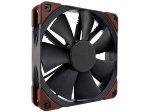 Noctua NF-F12 iPPC 3000 PWM, 4-Pin, Heavy Duty Cooling Fan with 3000RPM (120mm, Black)